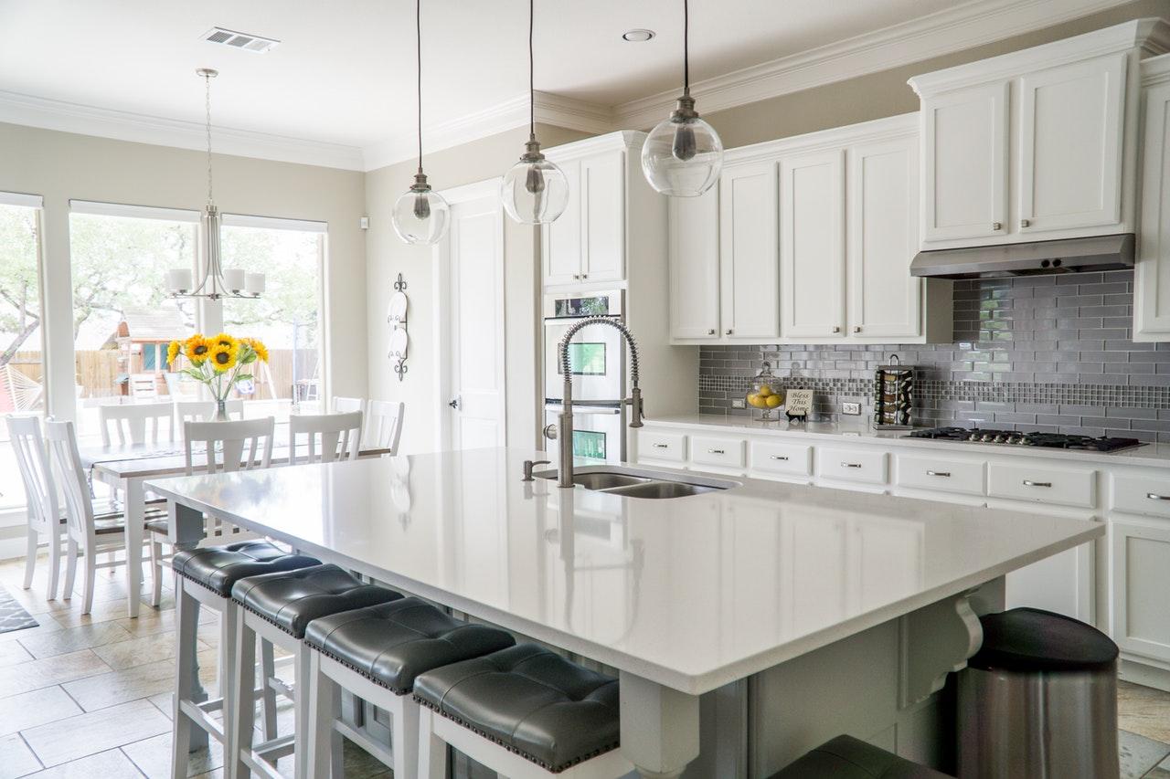 kitchen refurbishment with island